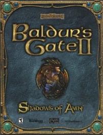 Okładka Baldur's Gate II: Cienie Amn